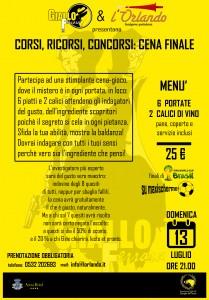 CENA13LUGLIO