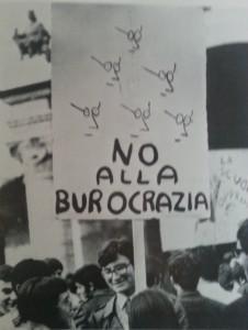 Manifestazione studentesca, 1970(Storia di Ferrara e provincia dalle origini ad oggi, a cura di Renato Jannucci, Vol. II, p.339)