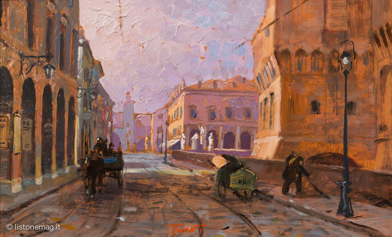Dipinto di Emanuele Taglietti