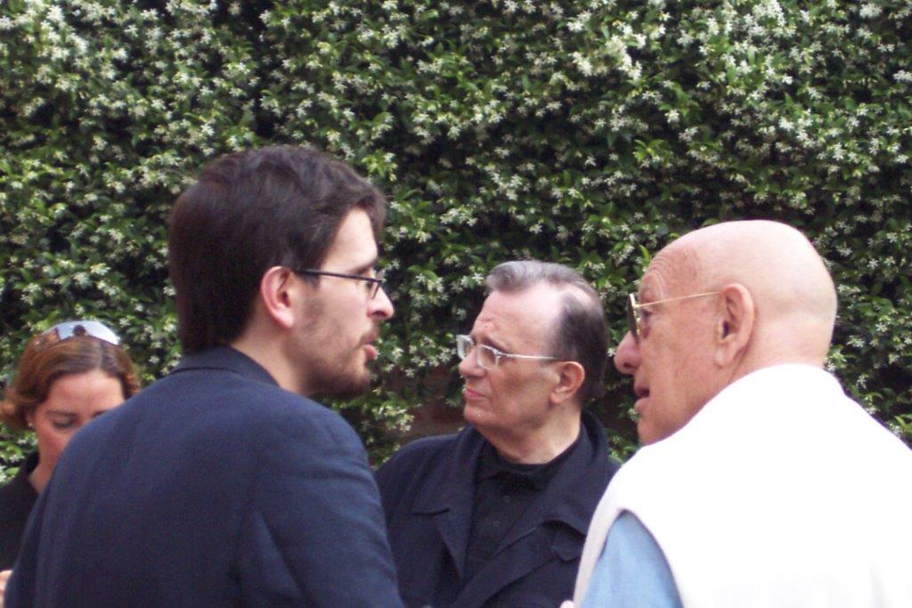 Da sinistra Massimo Marchetti, Franco Patruno e Franco Farina. Per gentile concessione di Paola Bonora.