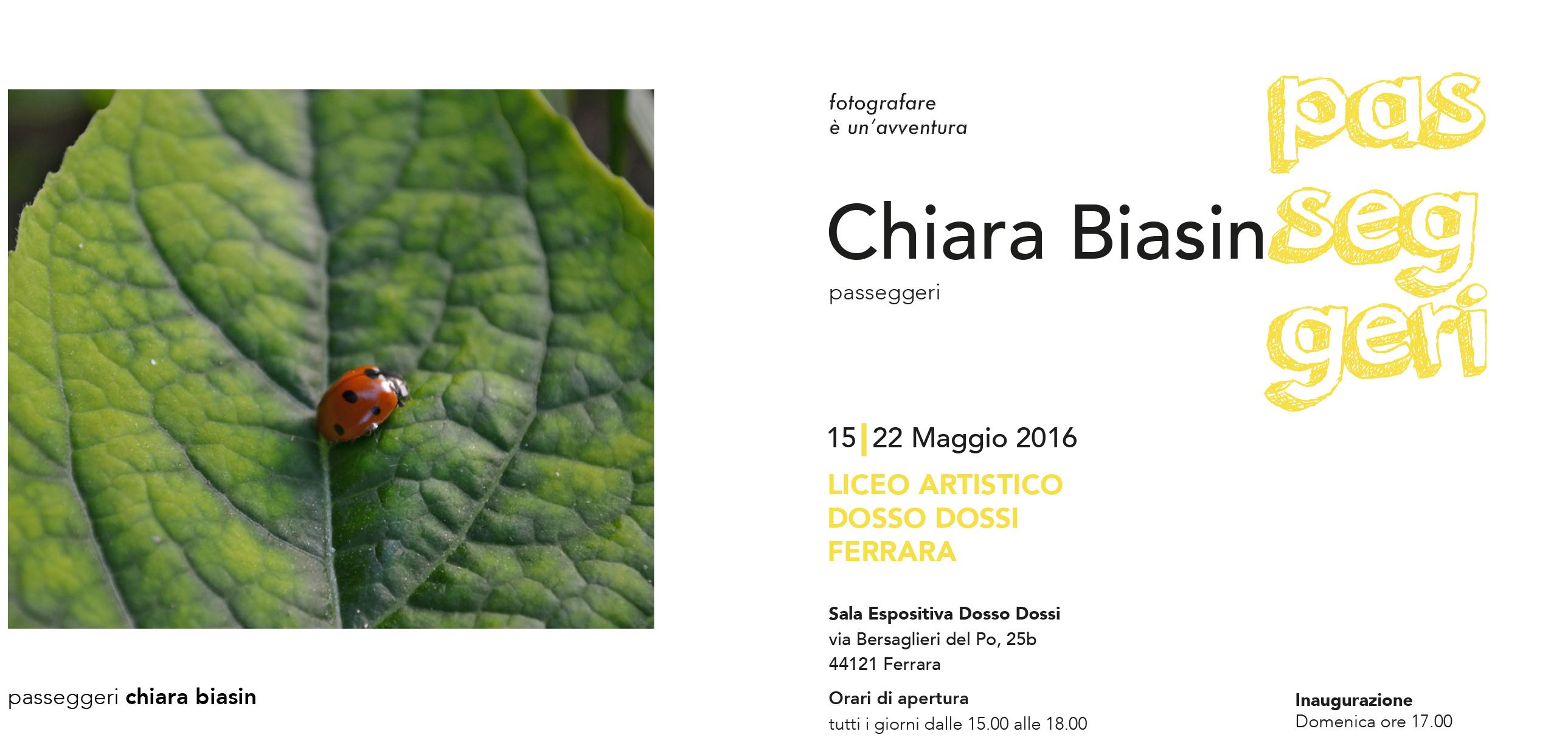 invito 1 CHIARA BIASIN coccinella web