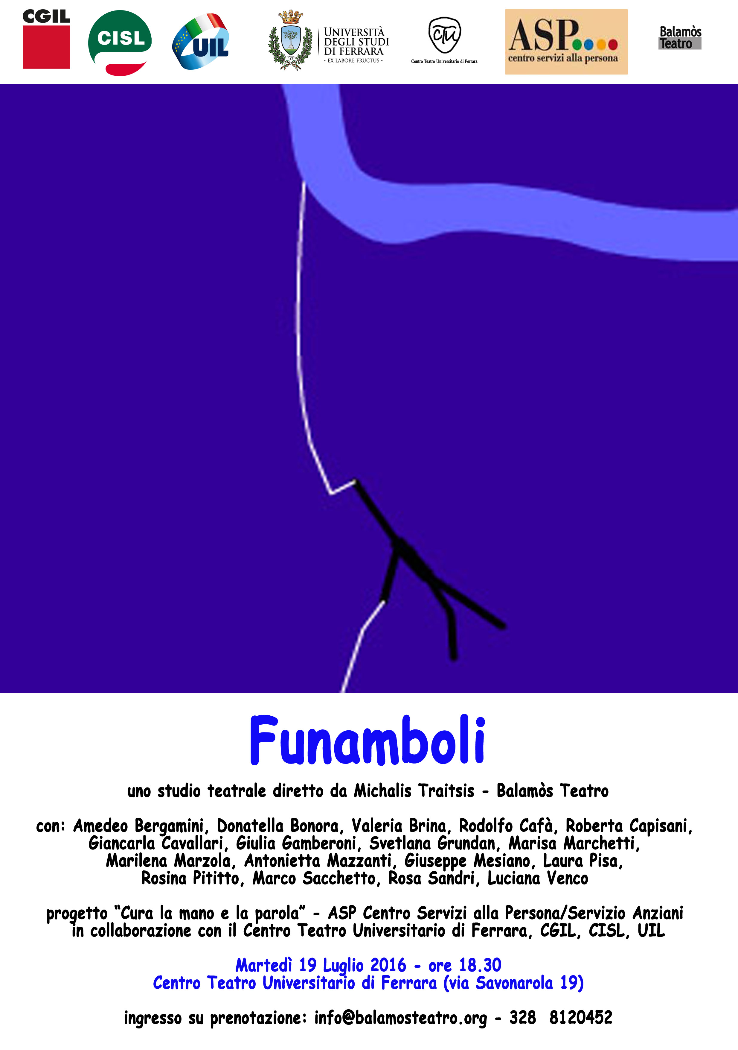 Locandina Funamboli  2016