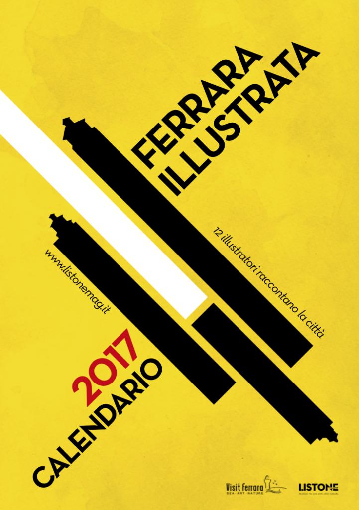 La copertina del calendario