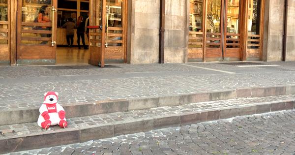 Ferrara, particolare.