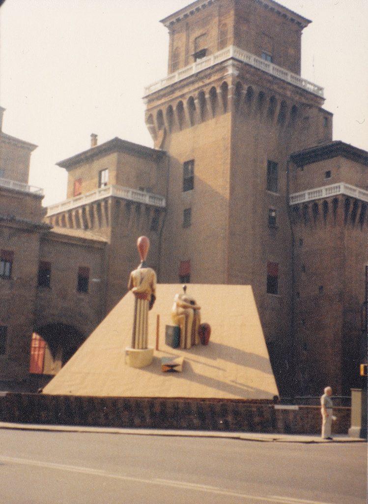 mariachiara marchioli dechirico 1985 castello